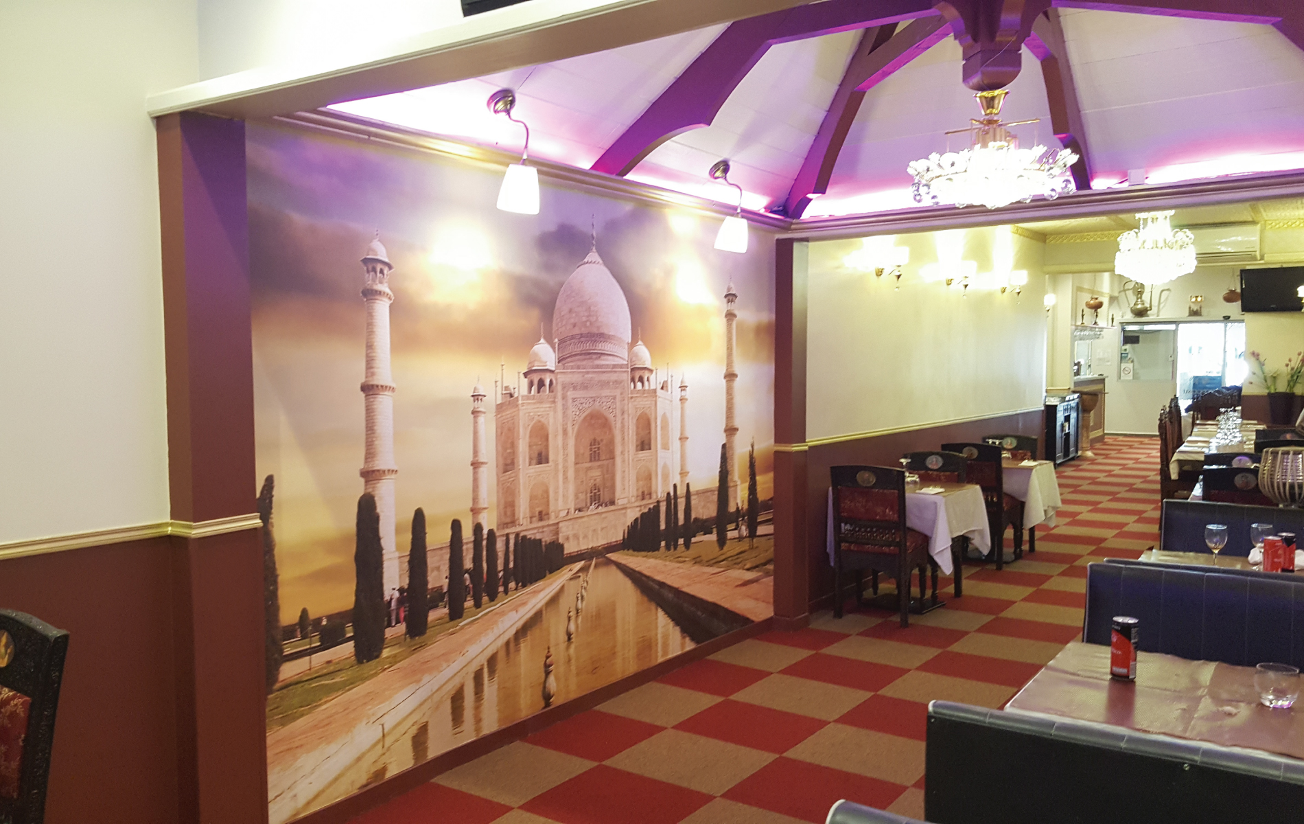 r servation taj mahal restaurant indien pakistanais reims. Black Bedroom Furniture Sets. Home Design Ideas