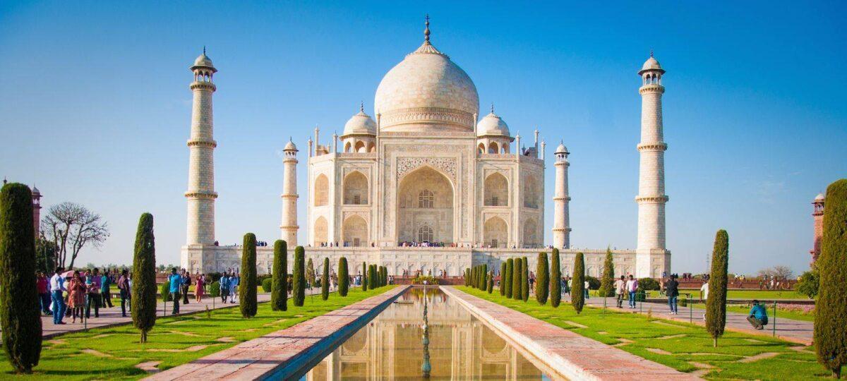 Agra et le légendaire Taj Mahal