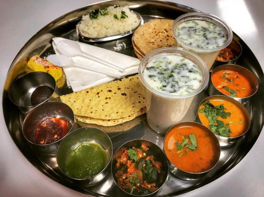 Le thali, un repas typiquement indien